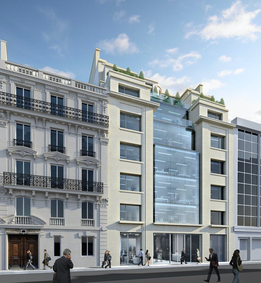 L'Etoile Properties advises foreign fund on the purchase of the commercial building at 21 rue de berri